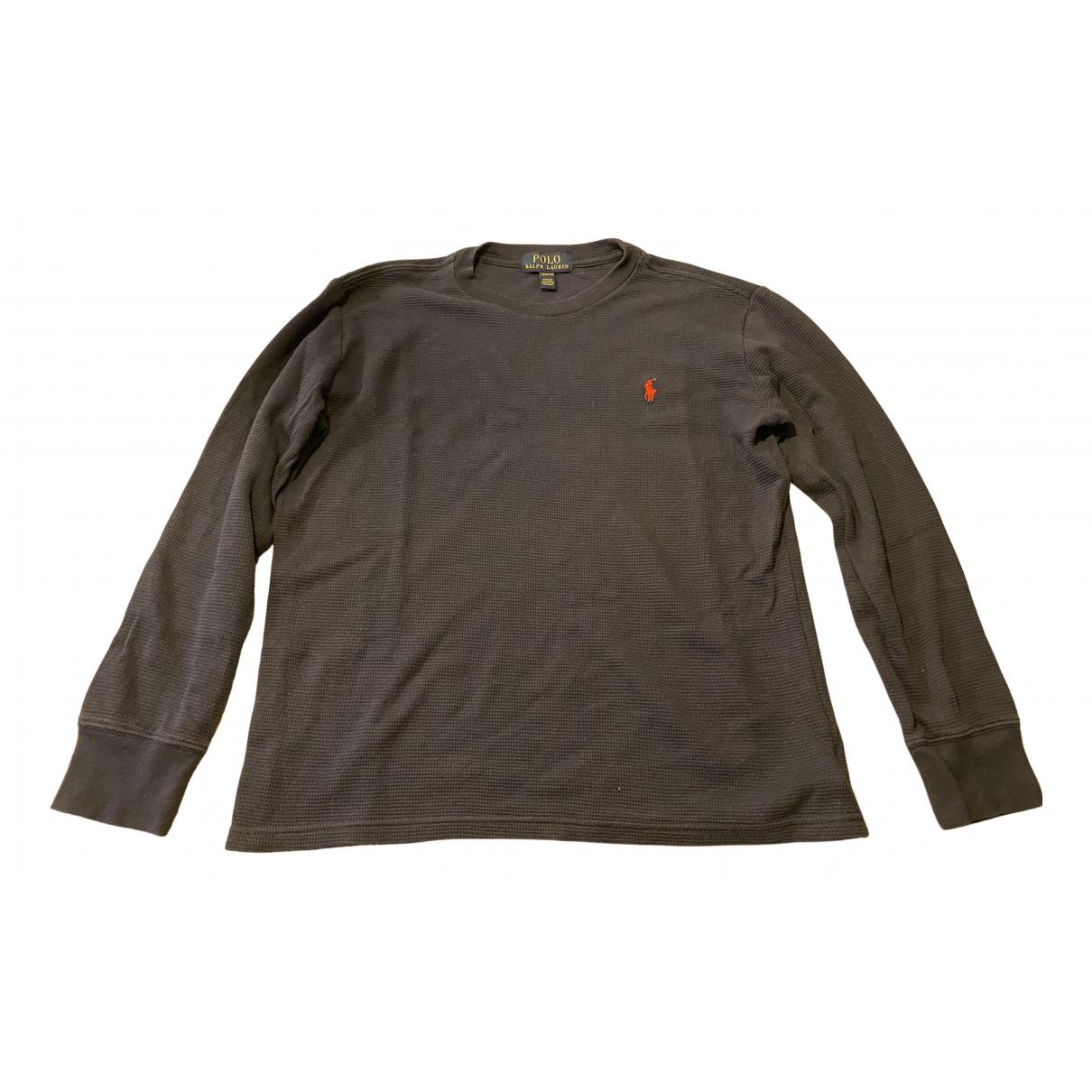 Polo Ralph Lauren - Top   pour enfant en coton - marine