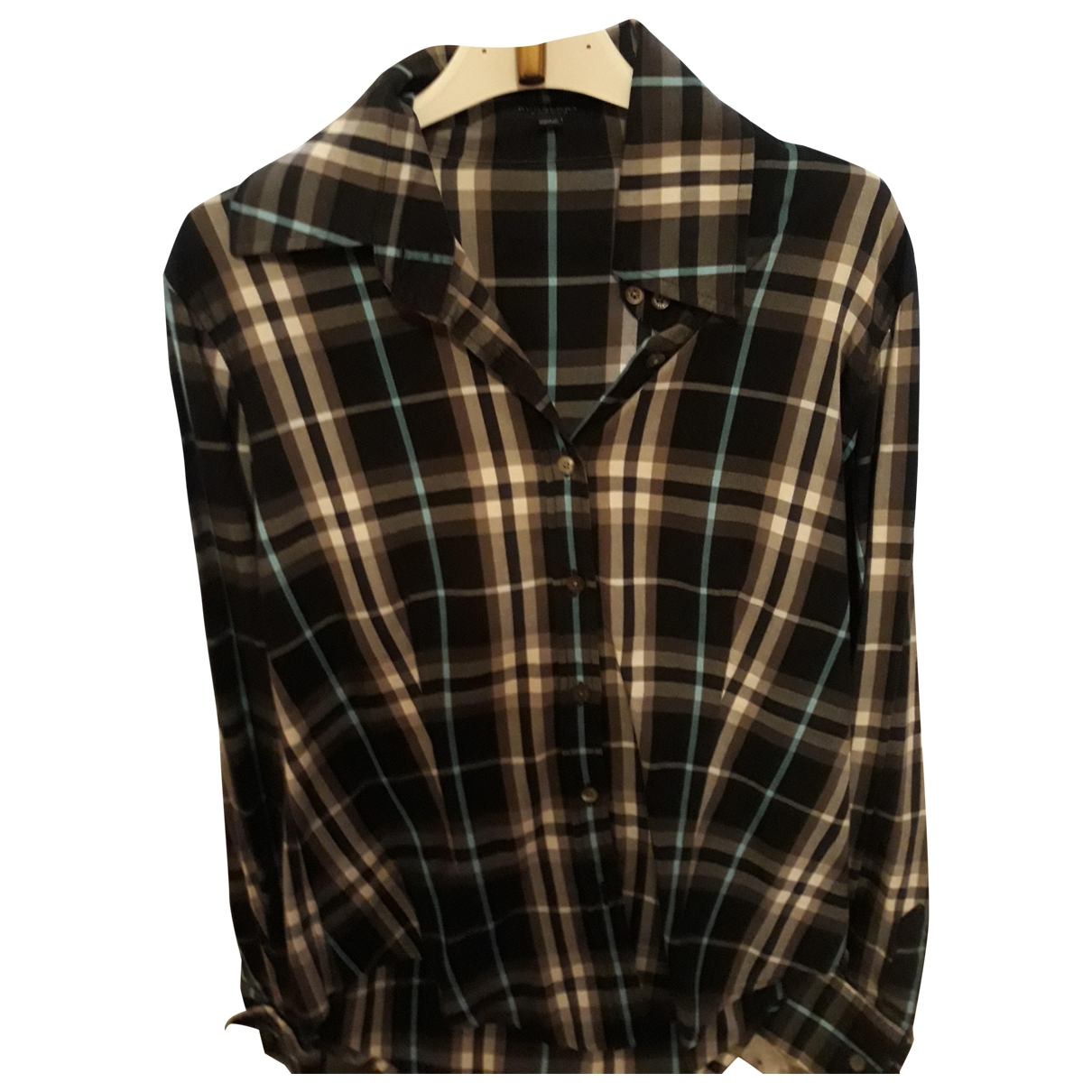 Burberry \N Anthracite Cotton  top for Women 40 IT
