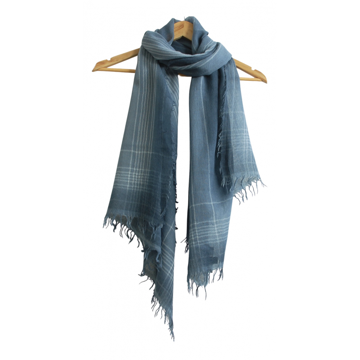 Max Mara \N Schal in  Blau Wolle