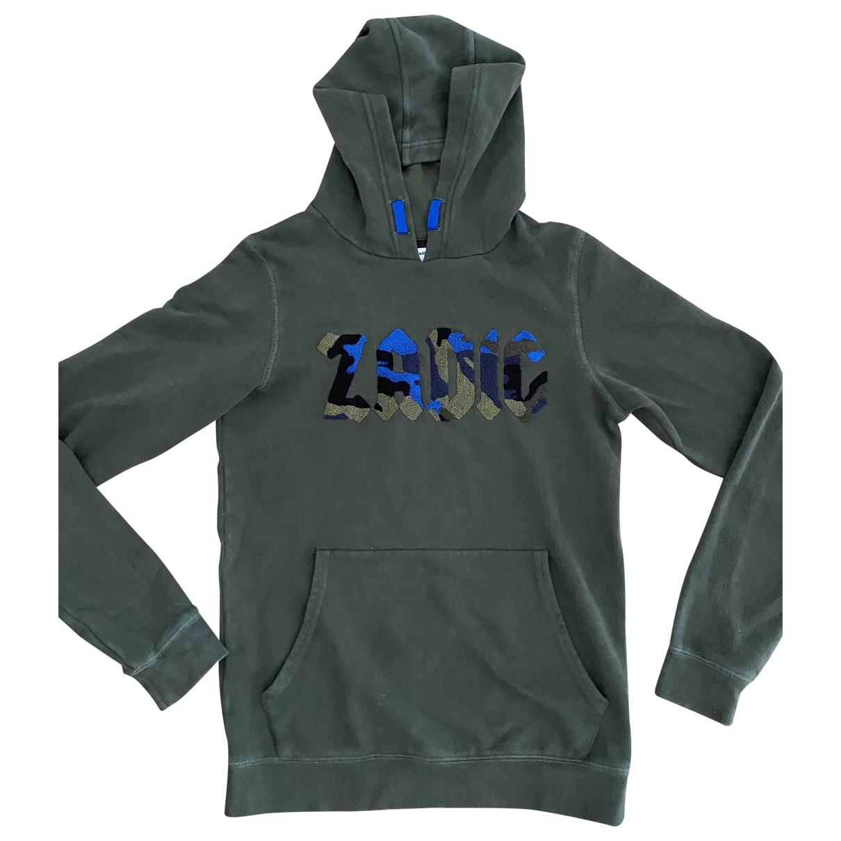 Zadig & Voltaire Fall Winter 2019 Khaki Cotton Knitwear & Sweatshirts for Men XS International