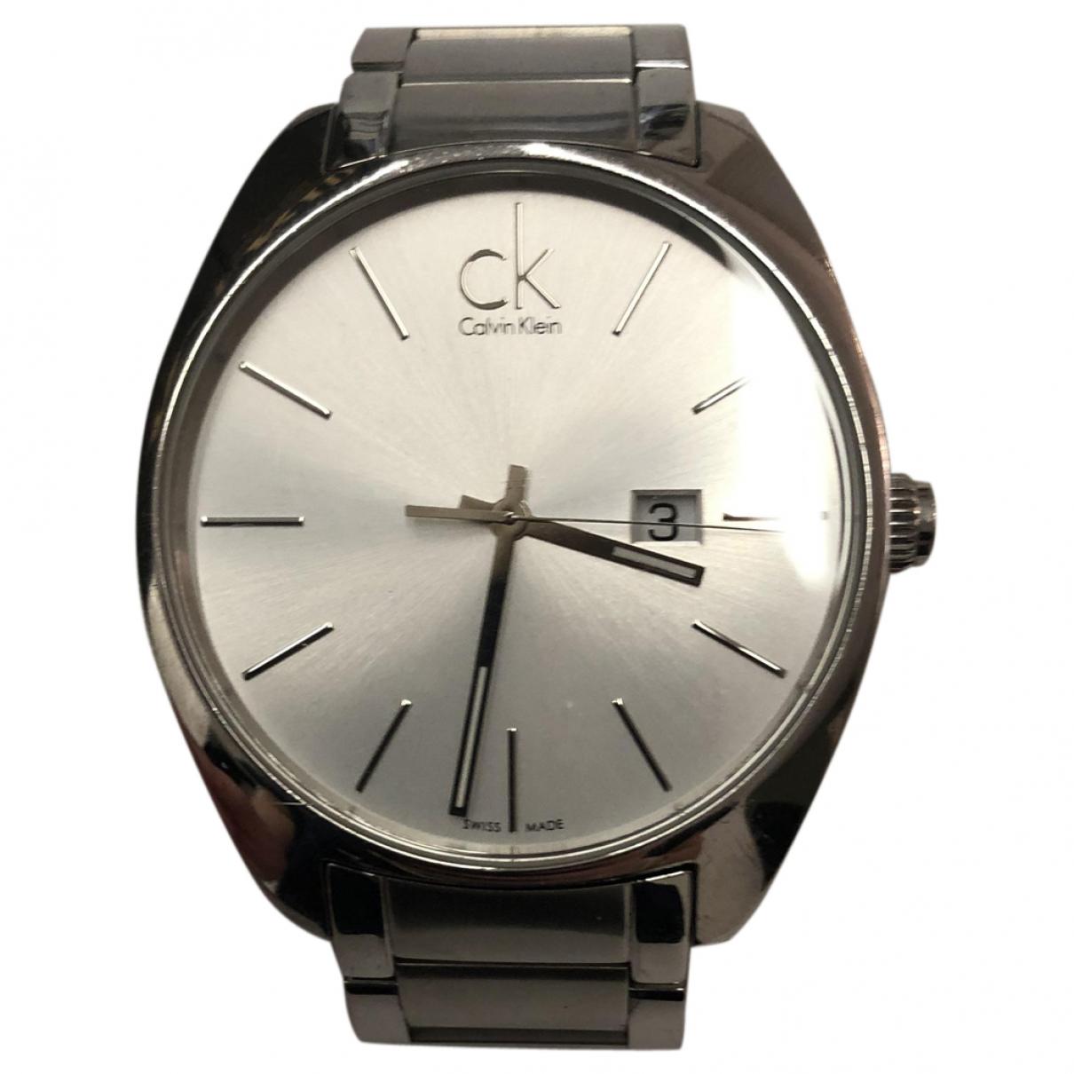 Calvin Klein \N Uhr in  Grau Stahl