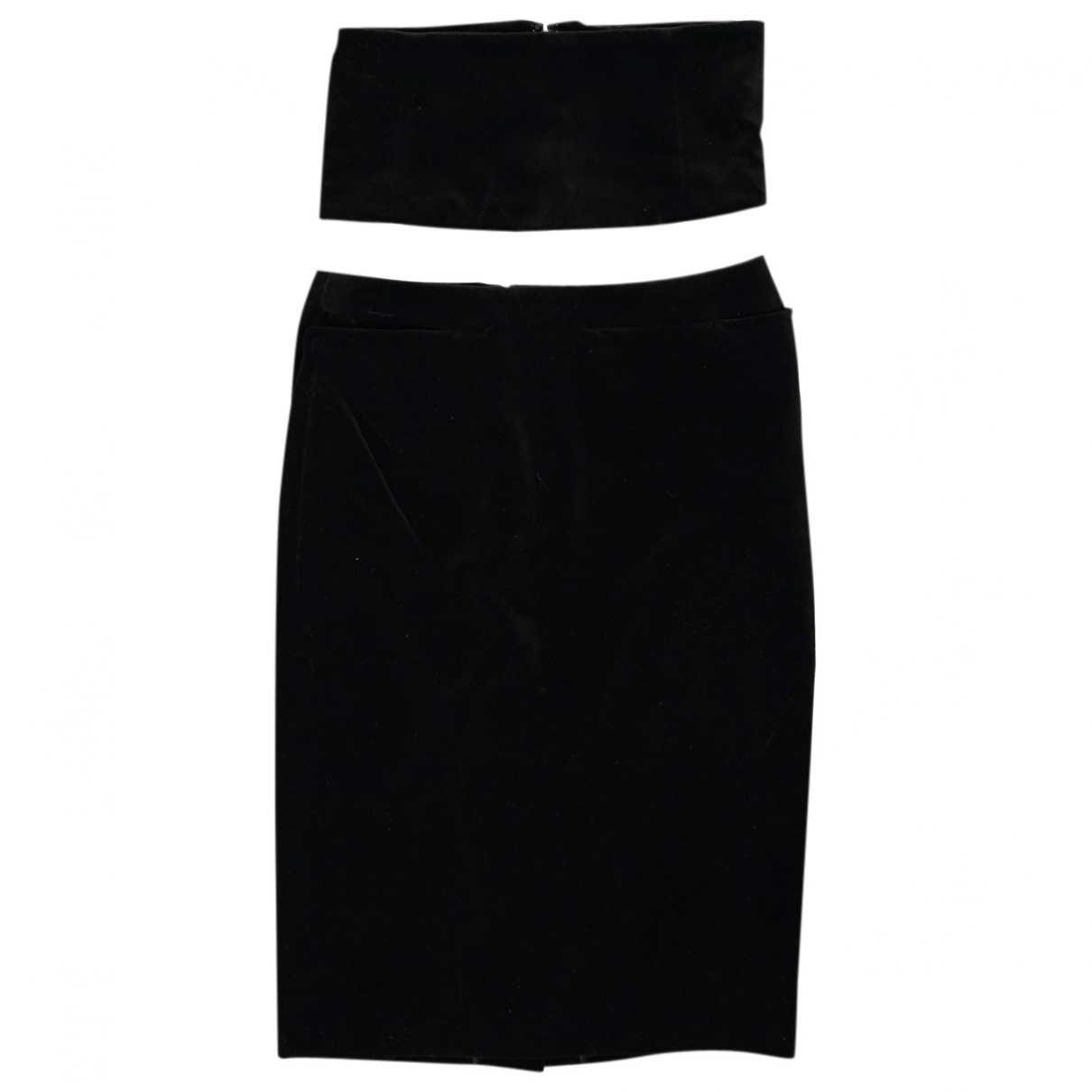 Yves Saint Laurent - Jupe   pour femme en coton - noir
