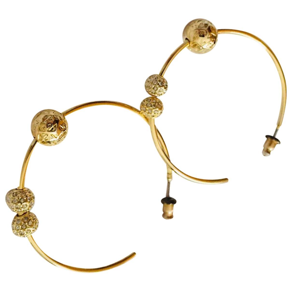 Swarovski \N OhrRing in  Gold Metall