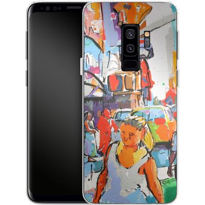 Samsung Galaxy S9 Plus Silikon Handyhuelle - My Favorite Corner von Tom Christopher