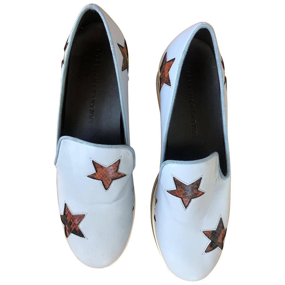 Stella Mccartney Binx Sneakers in  Blau Leinen