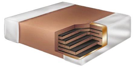 KEMET 0805 (2012M) 100pF Multilayer Ceramic Capacitor MLCC 250V dc ±5% SMD CBR08C101JAGAC (5)