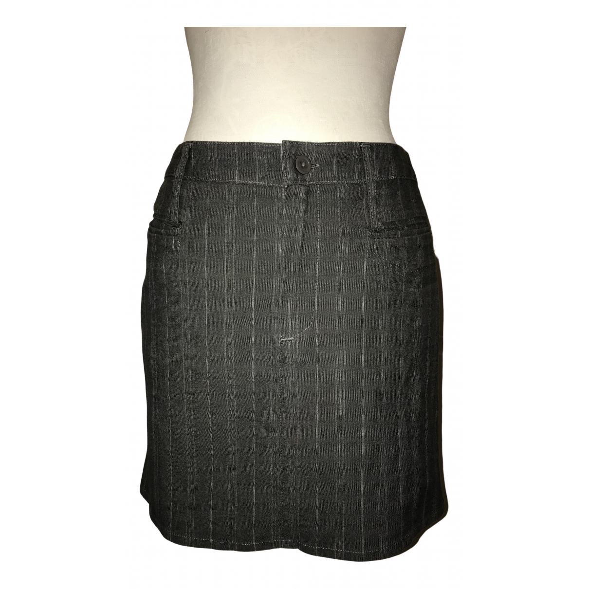 D&g \N Grey Cotton skirt for Women S International