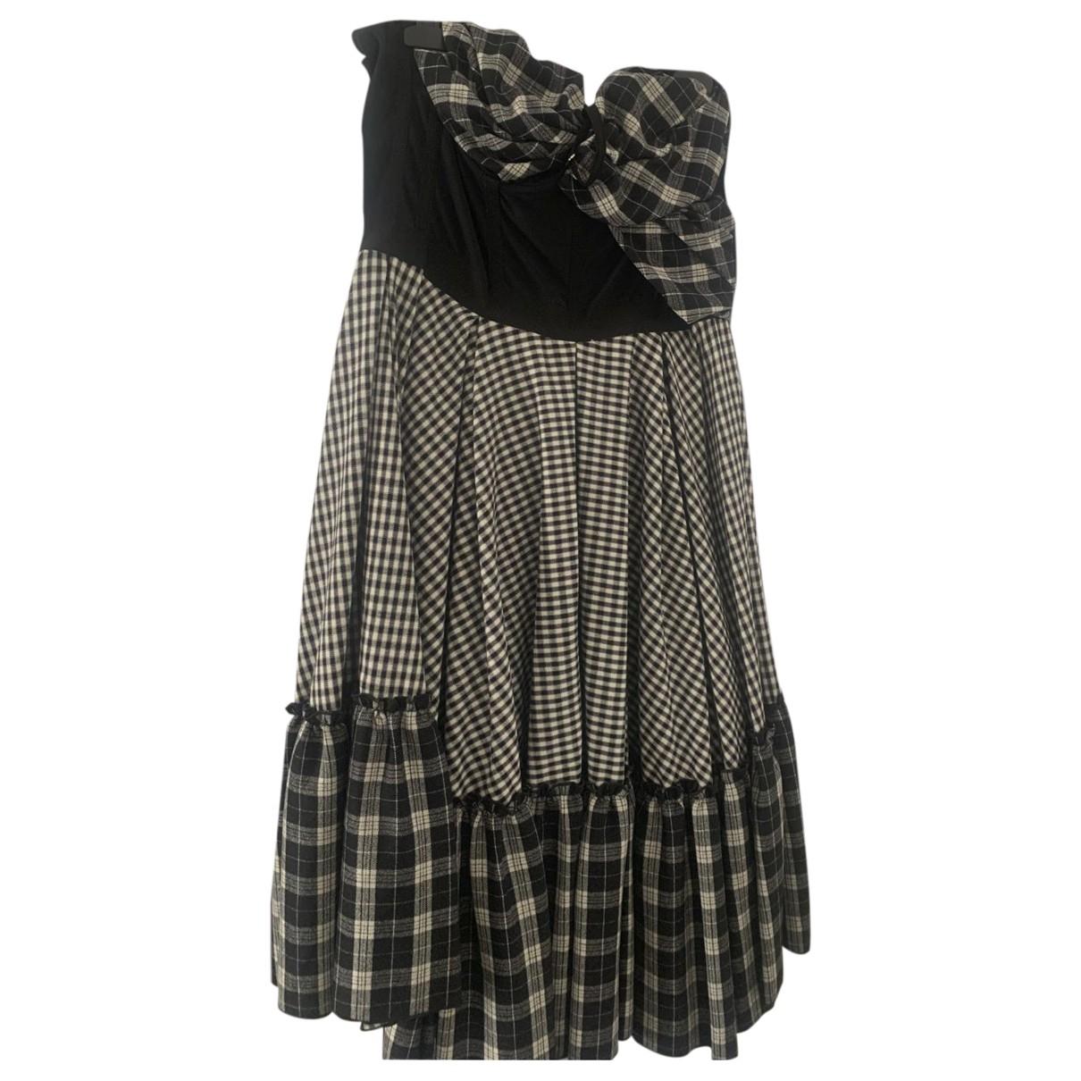D&g \N Kleid in  Bunt Baumwolle - Elasthan