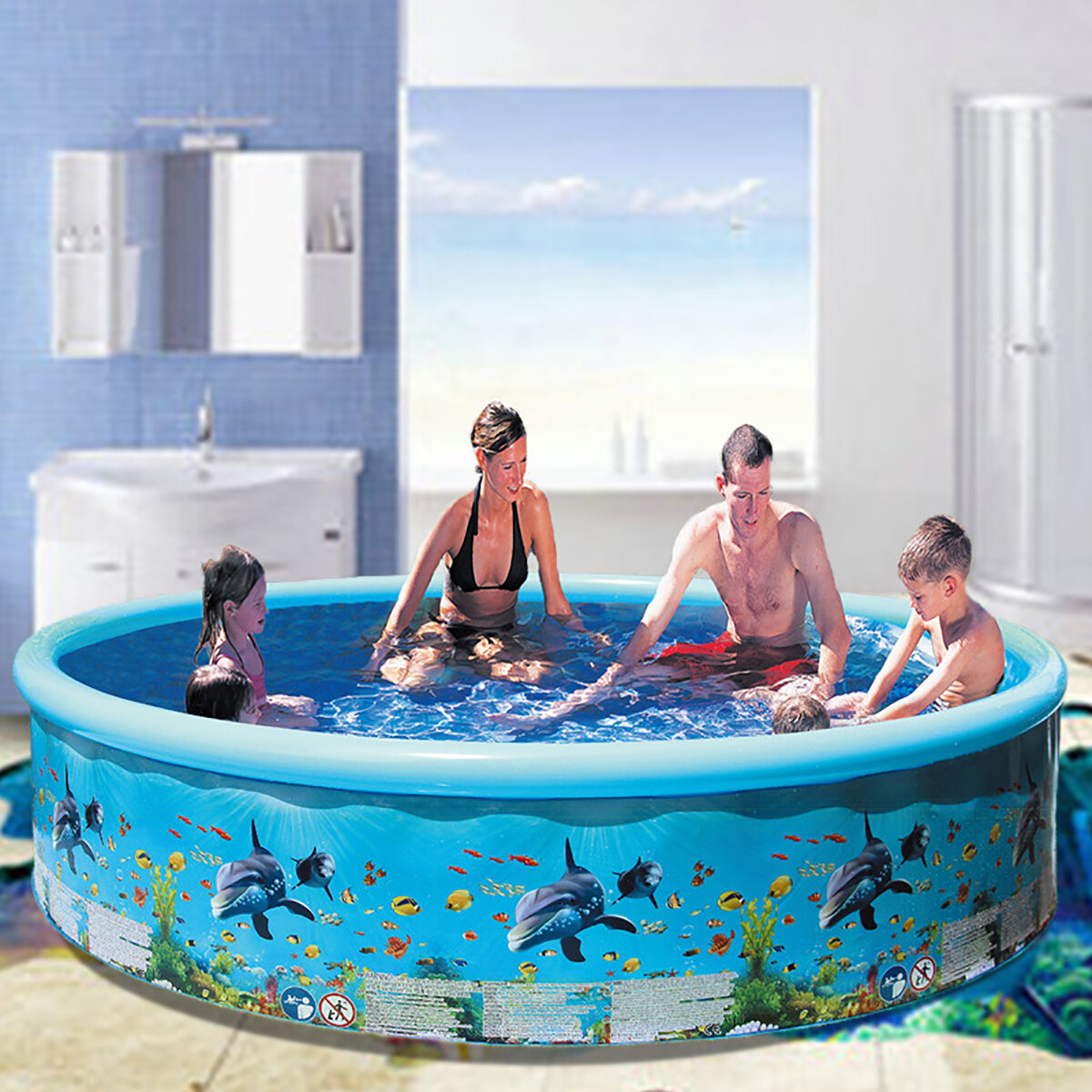 Swimming Pool Kids Adult Large Family Outdoor Swimming Pool Family Beach Summer Holiday Kids Pool