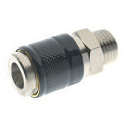 RS PRO BSP MALE QUICK COUPLING 1/8