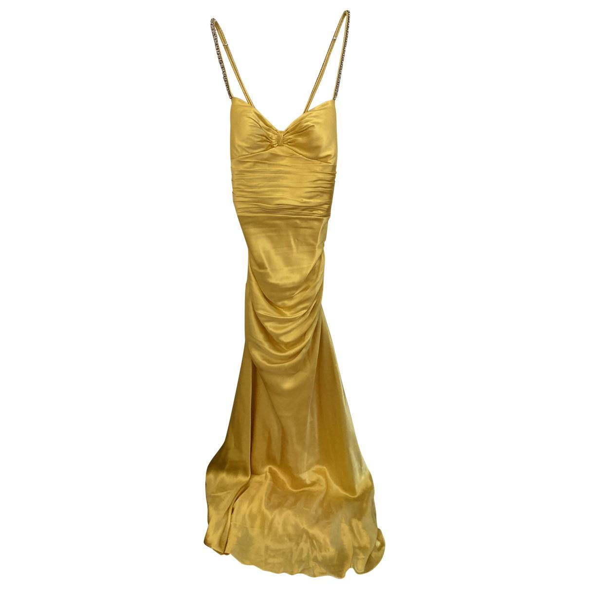 Vestido de Seda Aidan Mattox