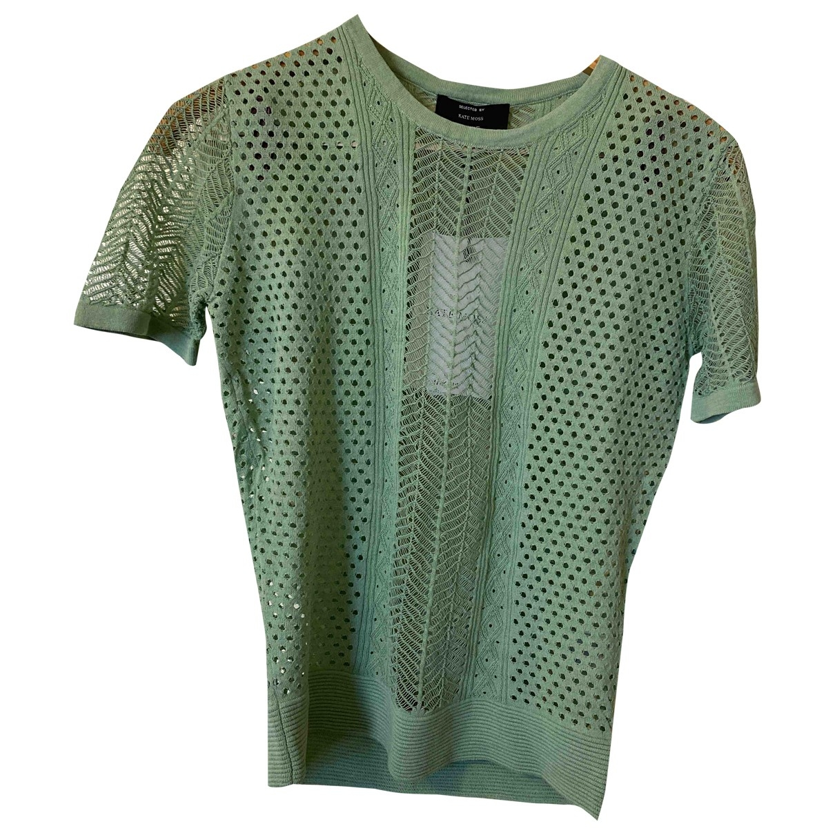 Non Signé / Unsigned \N Green  top for Women 34 FR