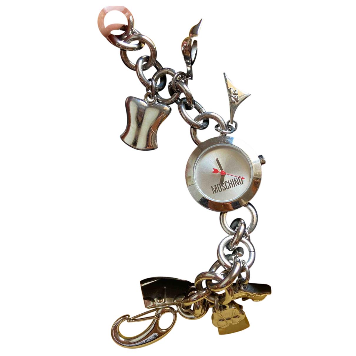 Moschino \N Armband in  Silber Versilbert