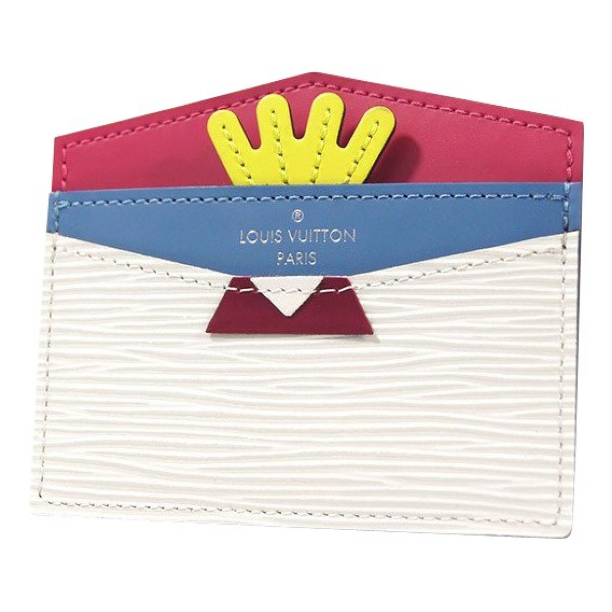 Louis Vuitton - Petite maroquinerie   pour femme en cuir - multicolore