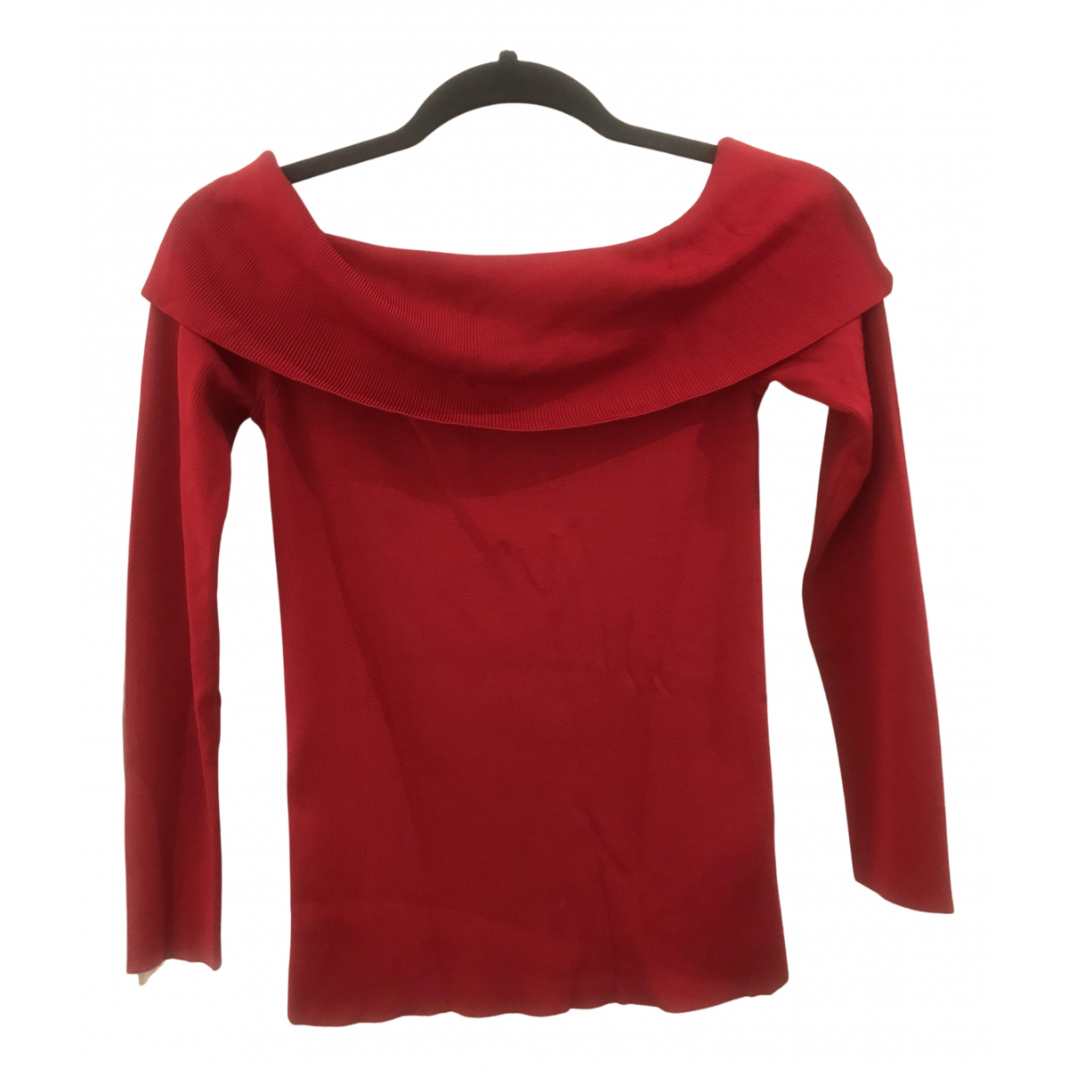 Reiss N Red  top for Women XS International