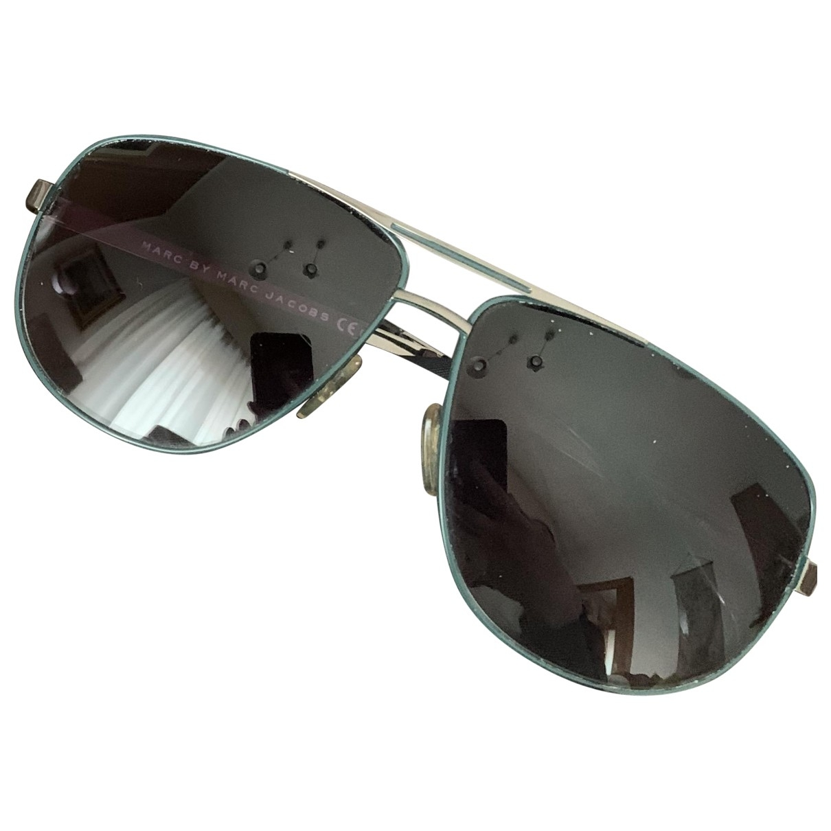 Marc By Marc Jacobs \N Turquoise Metal Sunglasses for Men \N
