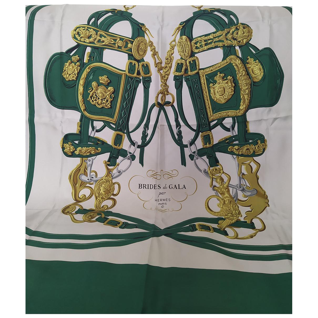 Hermès Carré 70 Green Silk Silk handkerchief for Women \N