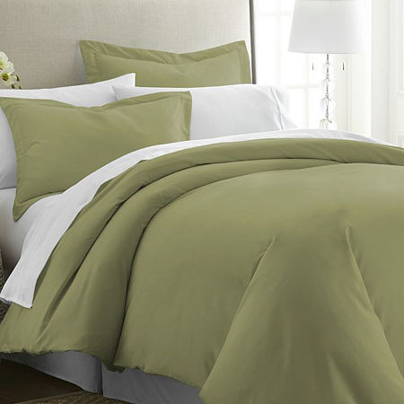 Ienjoy Home Casual Comfort Premium Ultra Soft Duvet Cover Set, One Size , Green