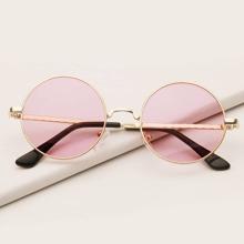 Maedchen Sonnenbrille mit Metall Rahmen