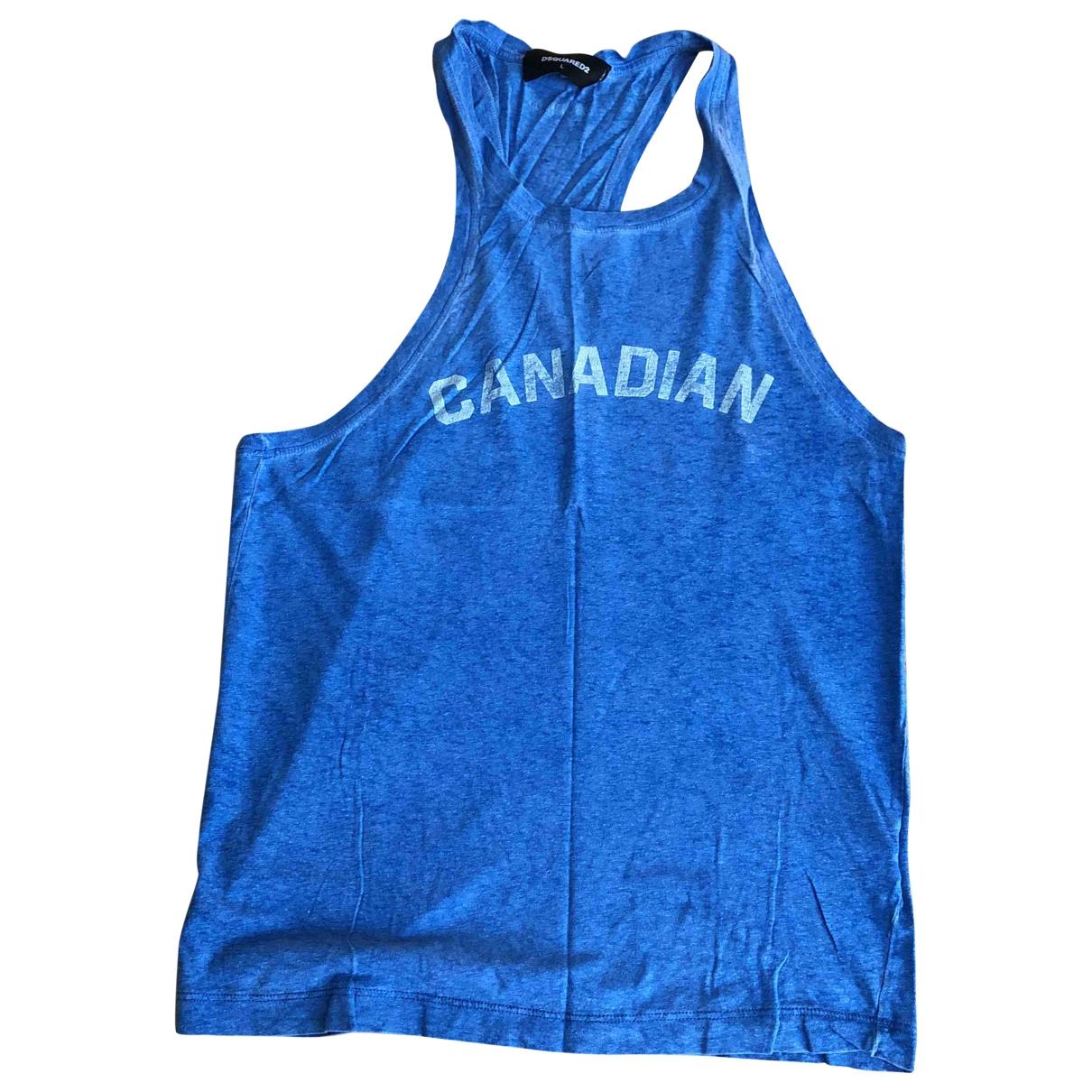 Dsquared2 \N T-Shirts in  Blau Baumwolle