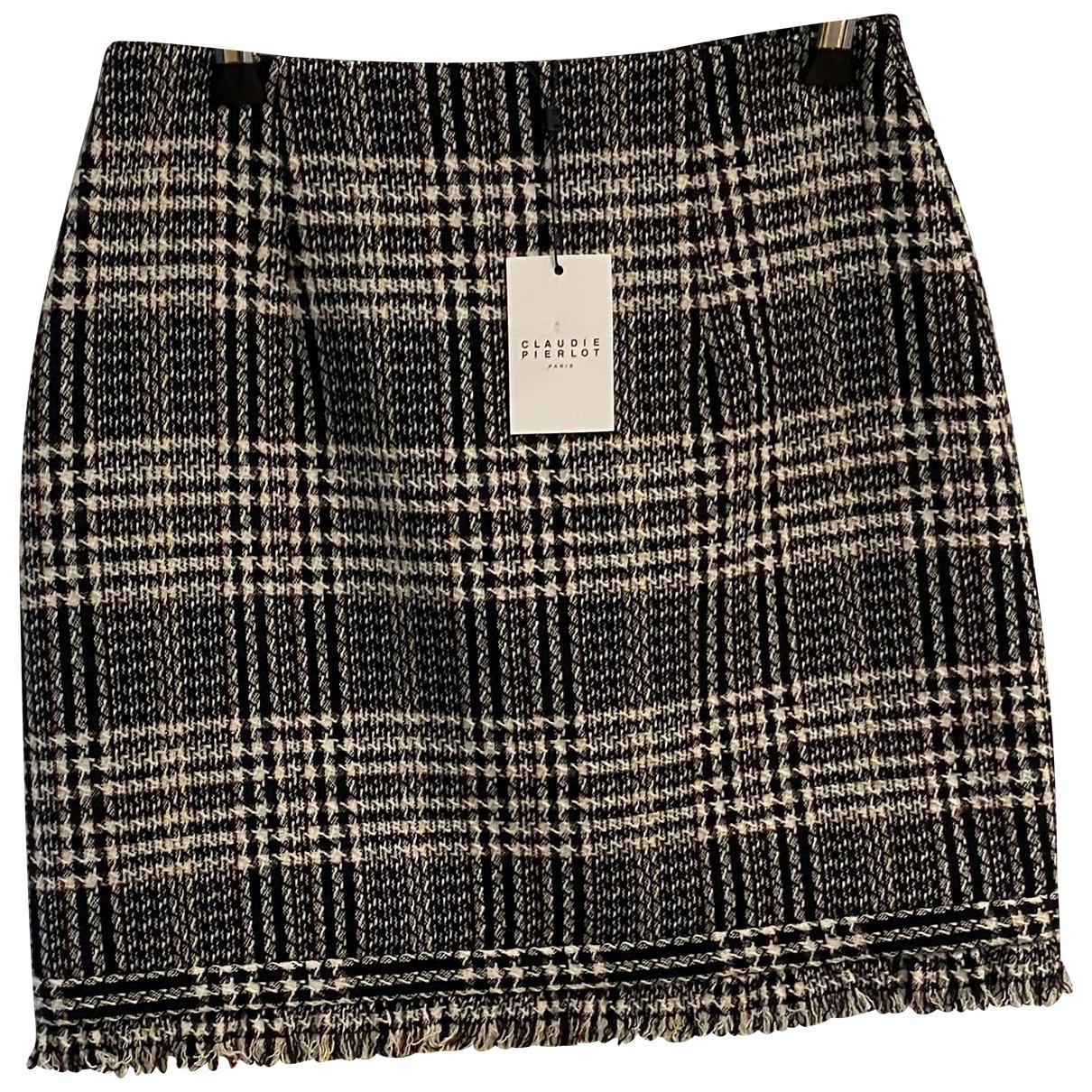 Mini falda de Lana Claudie Pierlot