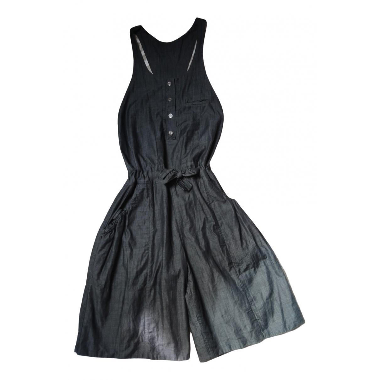 Chloé \N Anthracite Cotton jumpsuit for Women 36 FR