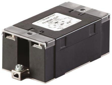Schaffner , FN2450 10A 250 V ac 400Hz, Panel Mount RFI Filter, Screw