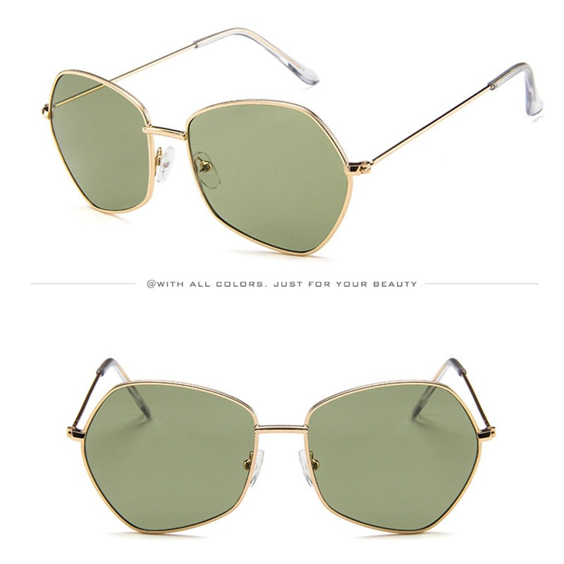 Eriicdress Colorful-Tinted Lenses Sunglassess