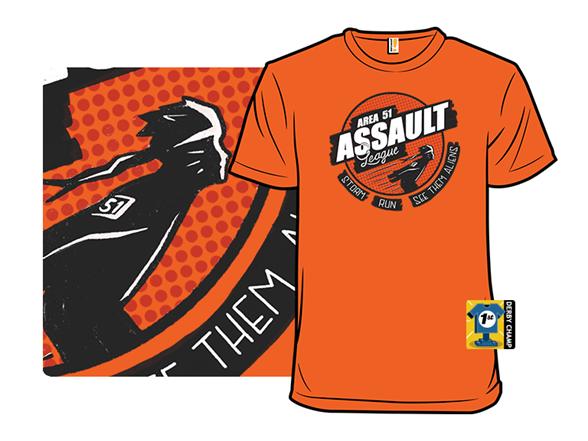 Area 51 Assault League T Shirt