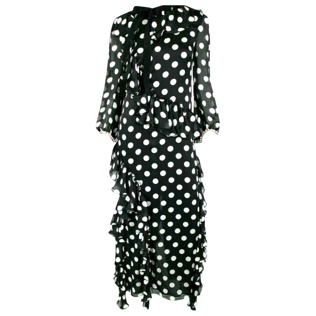 Gucci N Black Silk dress for Women 40 IT