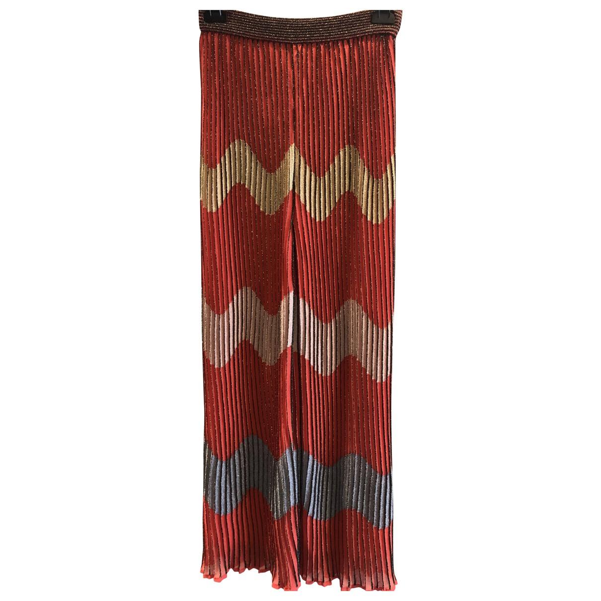Pantalon en Viscosa Multicolor Missoni