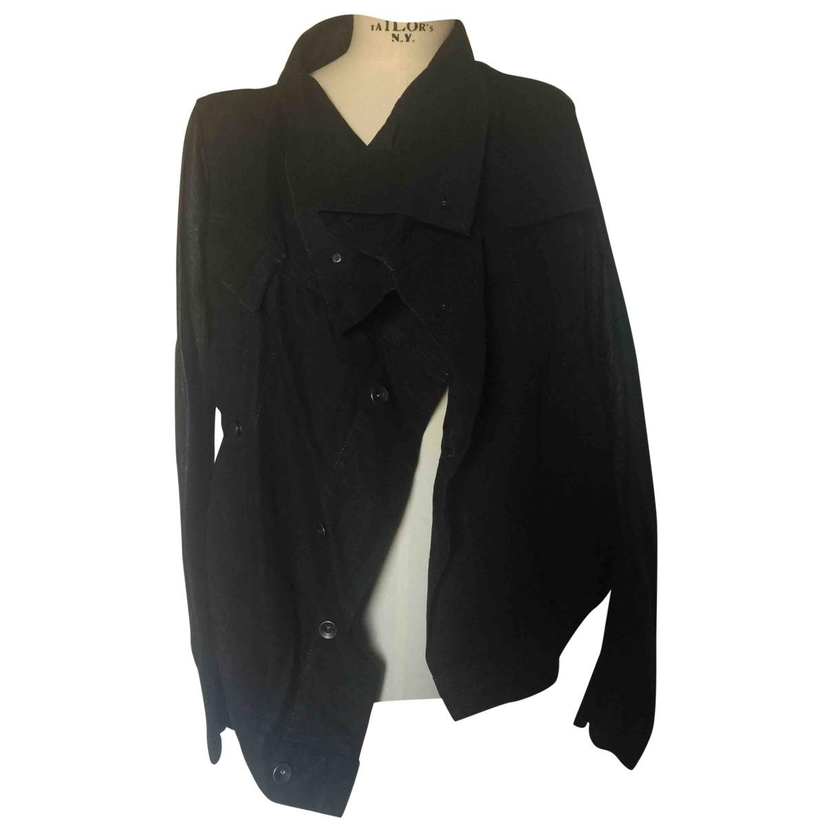 Rick Owens - Veste   pour femme en coton - noir