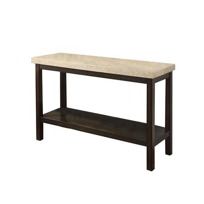 BM205328 Transitional Sofa Table with Genuine Marble Top