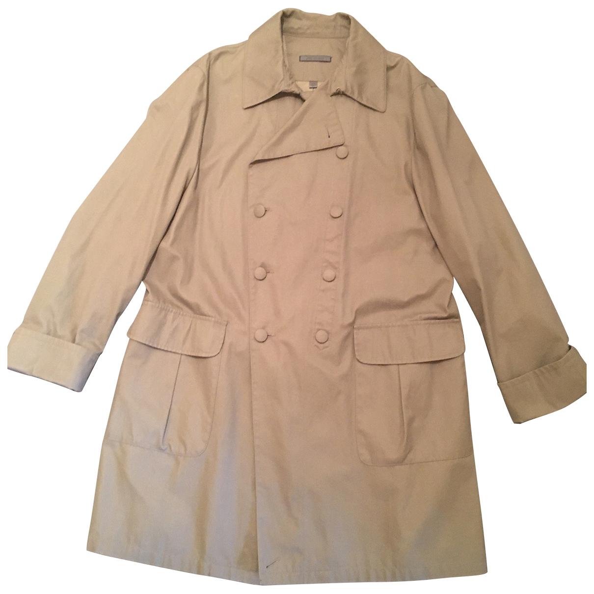 John Varvatos - Manteau   pour homme en coton - vert