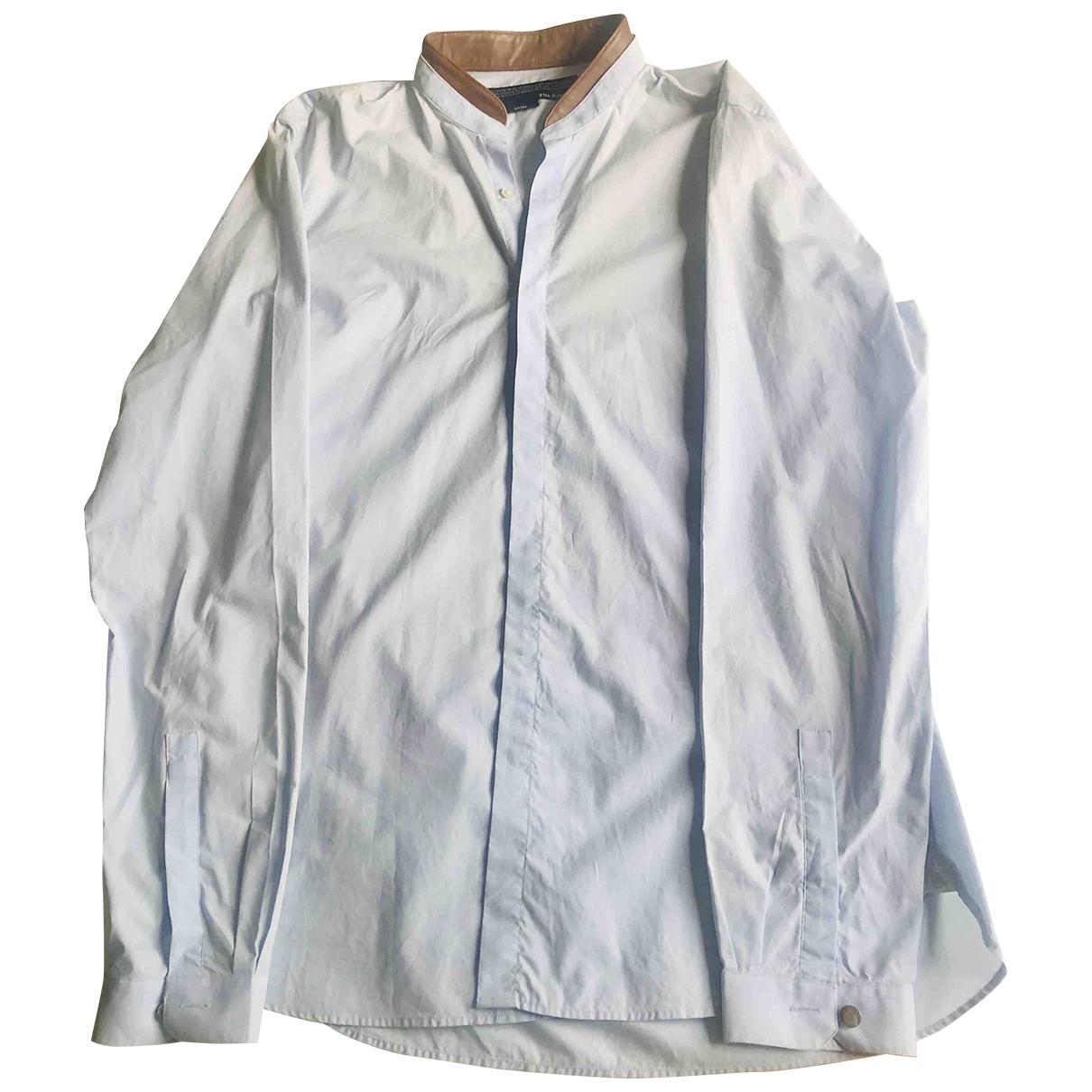 The Kooples \N Blue Cotton Shirts for Men M International