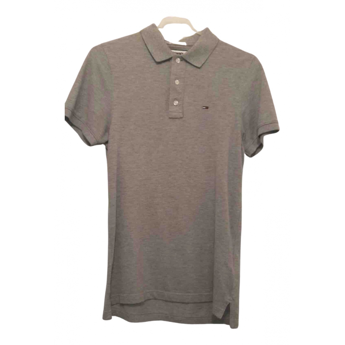 Tommy Hilfiger N Grey Cotton Polo shirts for Men S International