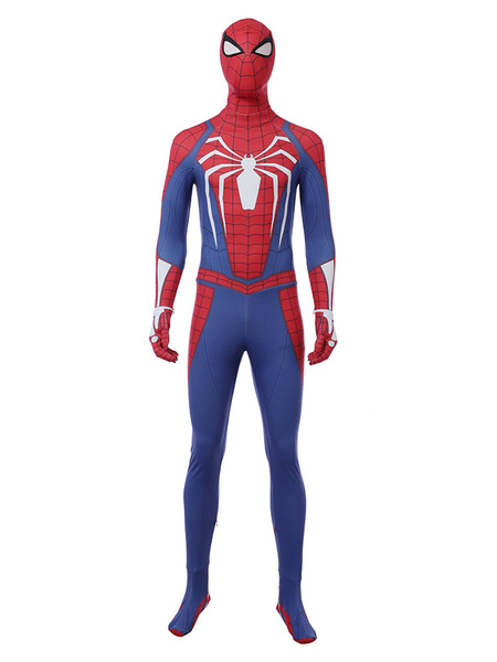 Milanoo Marvel Comics Marvel\'s Spider Man PS4 Game Carnival Cosplay Costume