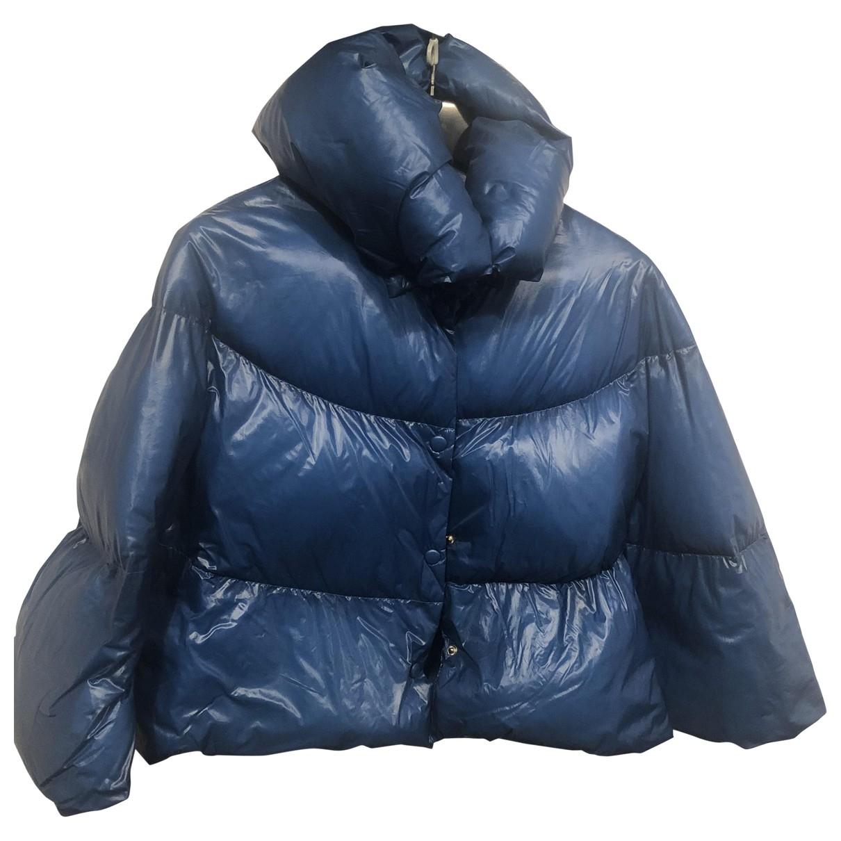 Liu.jo - Manteau   pour femme - bleu