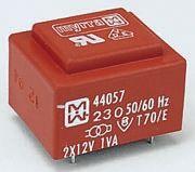 Myrra 18V ac 2 Output Through Hole PCB Transformer, 1VA