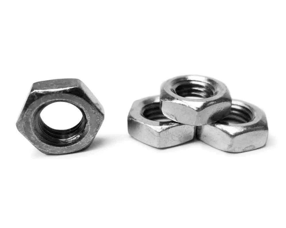 Steinjager J0041149 Nuts Bulk Jam Fasteners, Bulk 3/4-16 RH 4 Pack Grade 2 Plated Zinc Silver