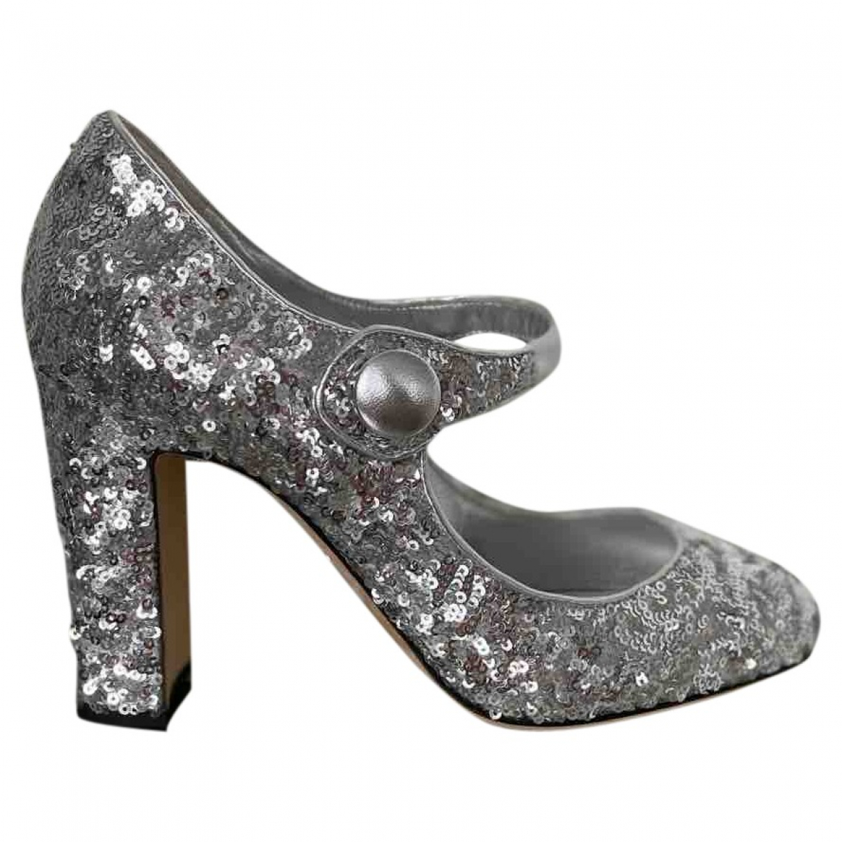 Dolce & Gabbana \N Pumps in  Silber Mit Pailletten
