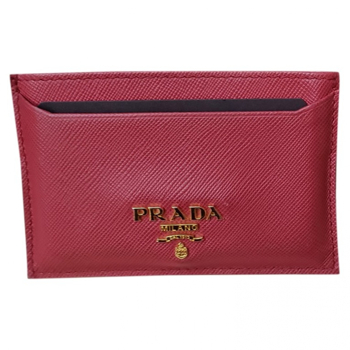 Prada \N Pink Leather Purses, wallet & cases for Women \N