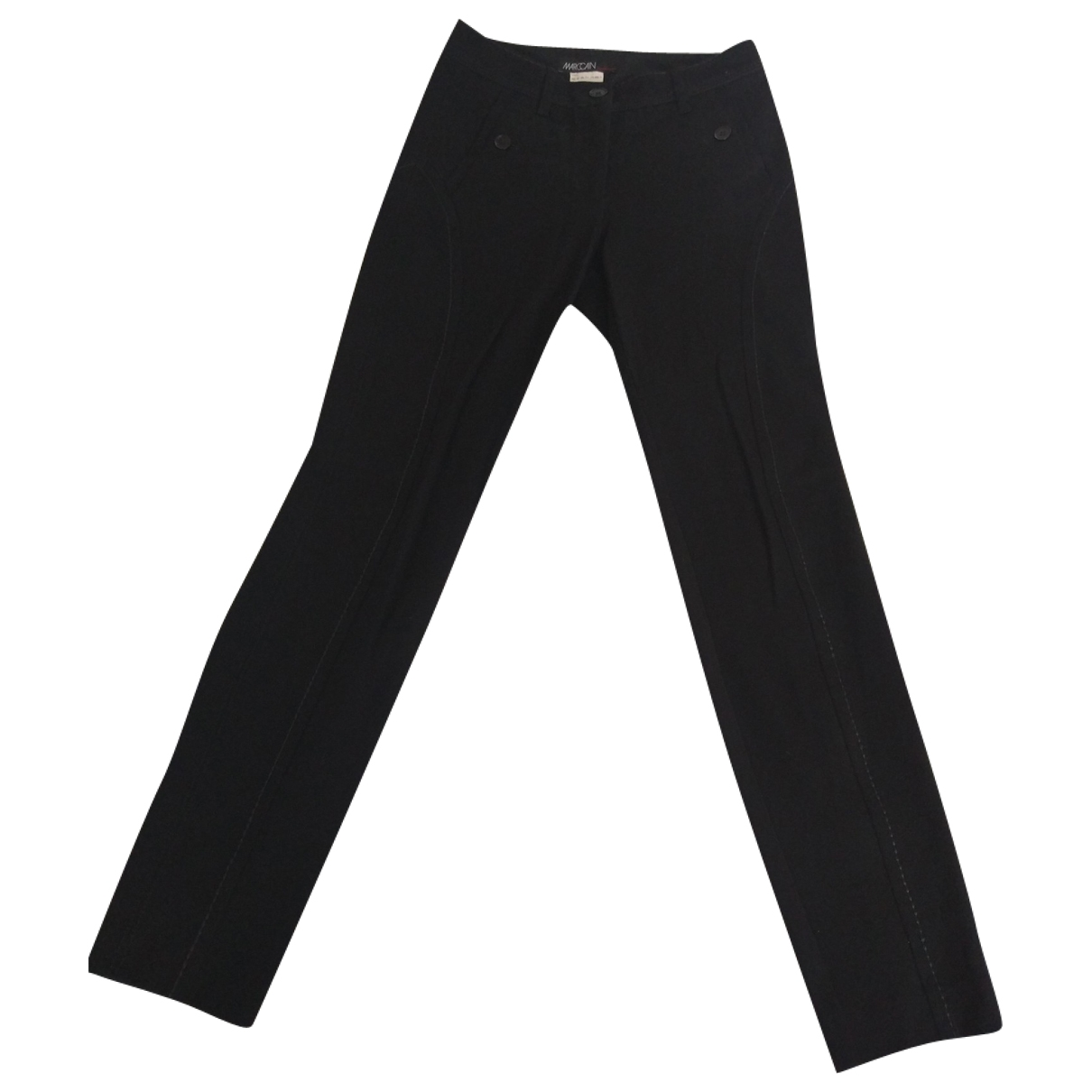 Marc Cain \N Black Trousers for Women XS International
