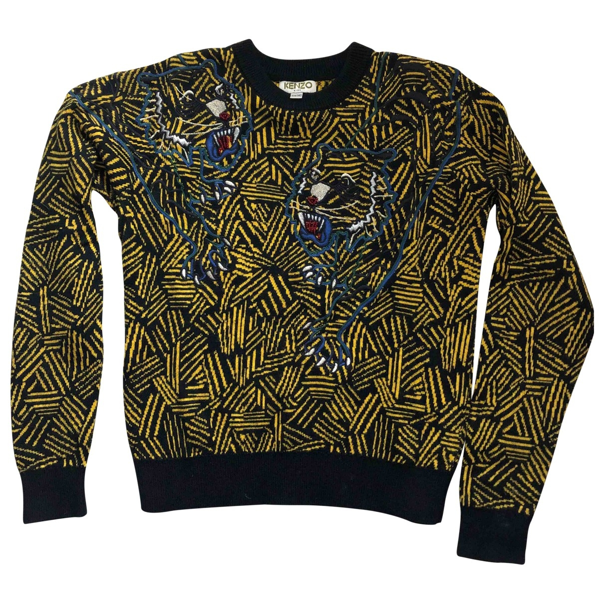 Kenzo \N Yellow Cotton Knitwear for Kids 10 years - up to 142cm FR
