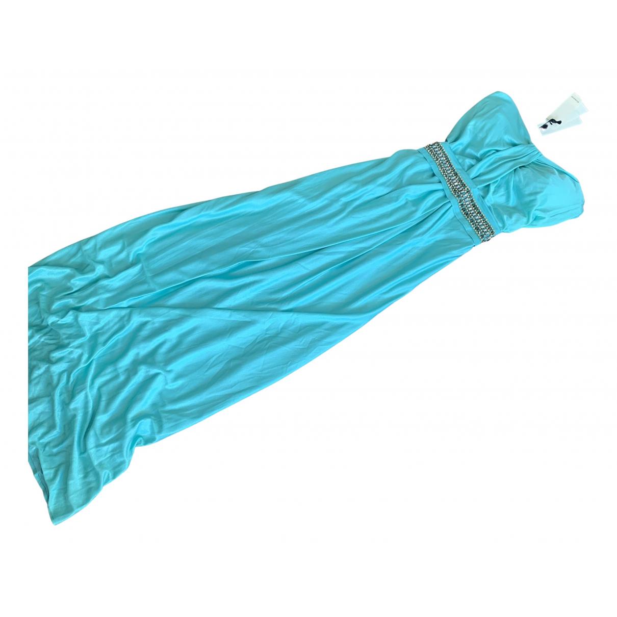 Pinko \N Kleid in  Marine Polyester
