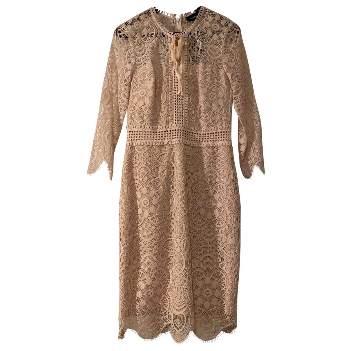The Kooples Spring Summer 2019 Kleid in  Rosa Baumwolle