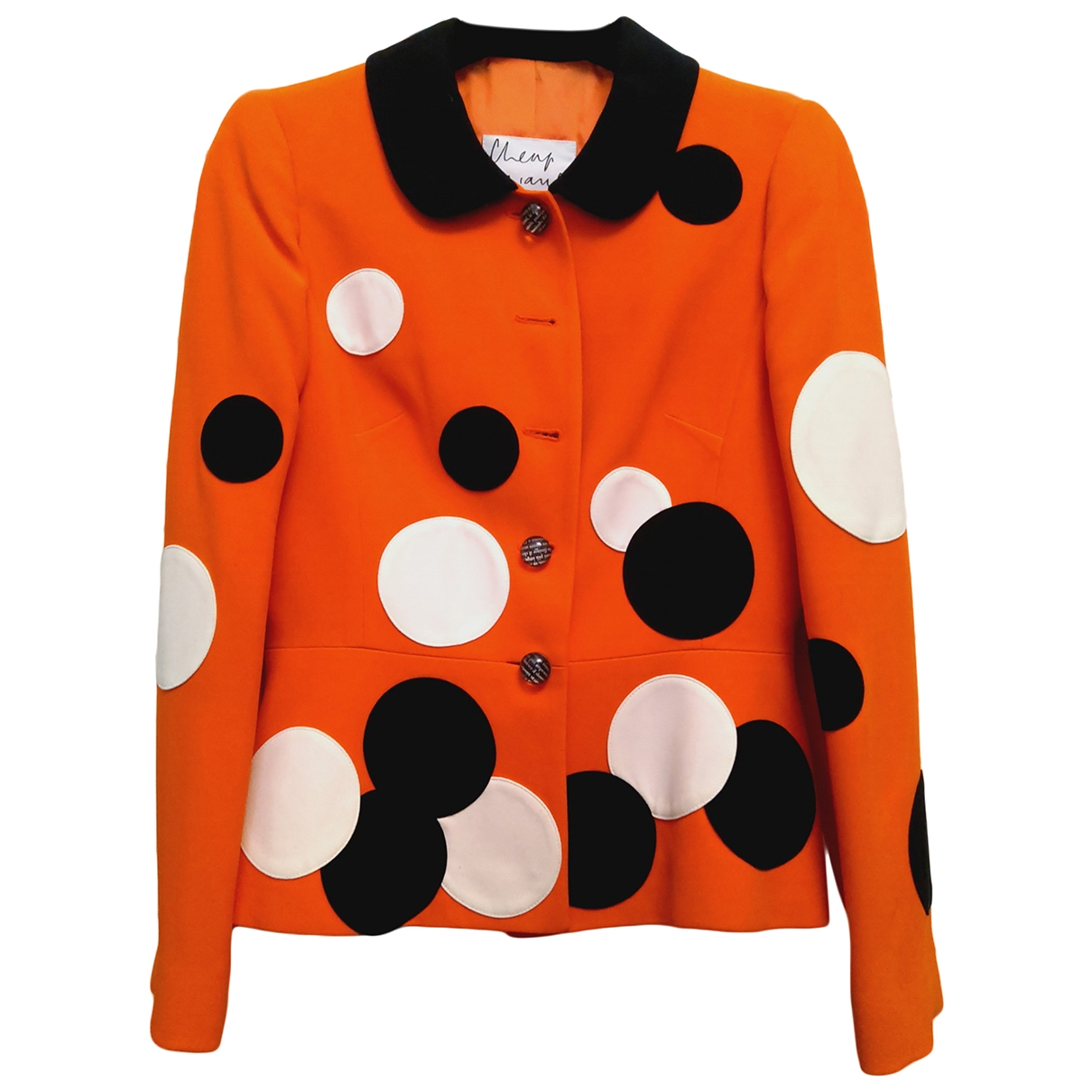Moschino Cheap And Chic \N Orange jacket for Women 42 IT