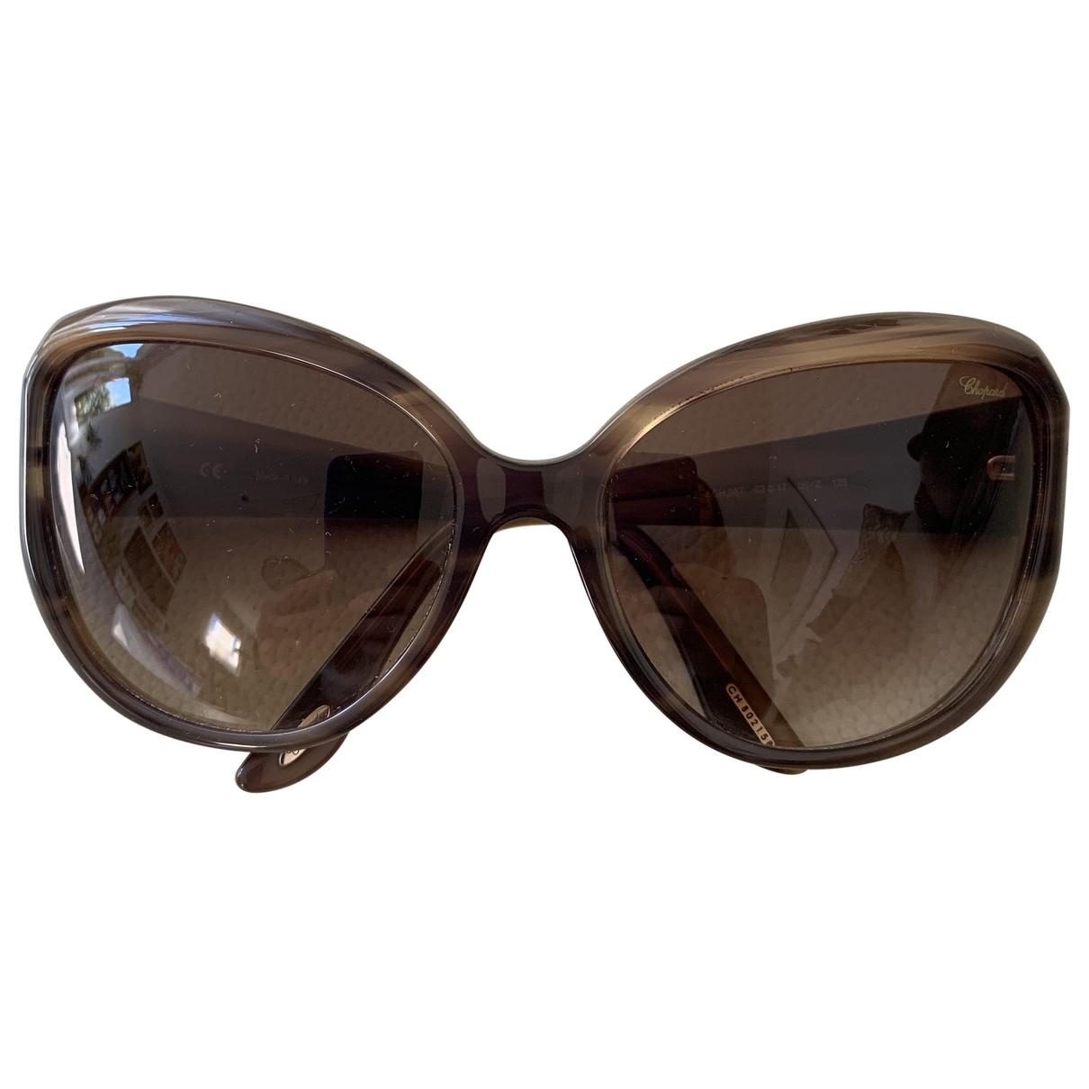 Chopard \N Brown Sunglasses for Women \N