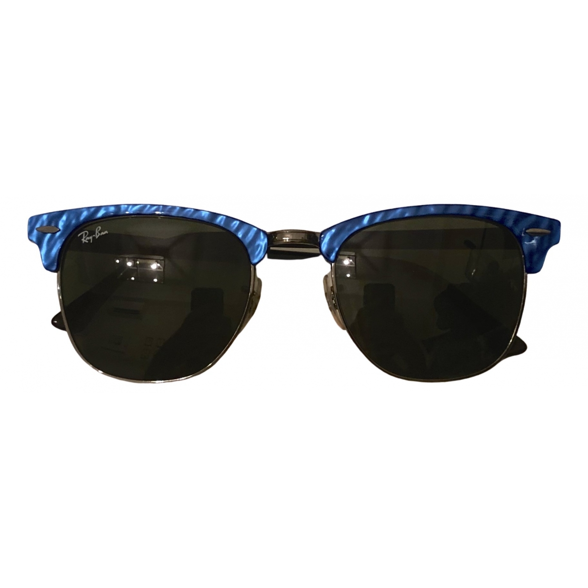 Ray-ban Clubmaster Blue Sunglasses for Women \N