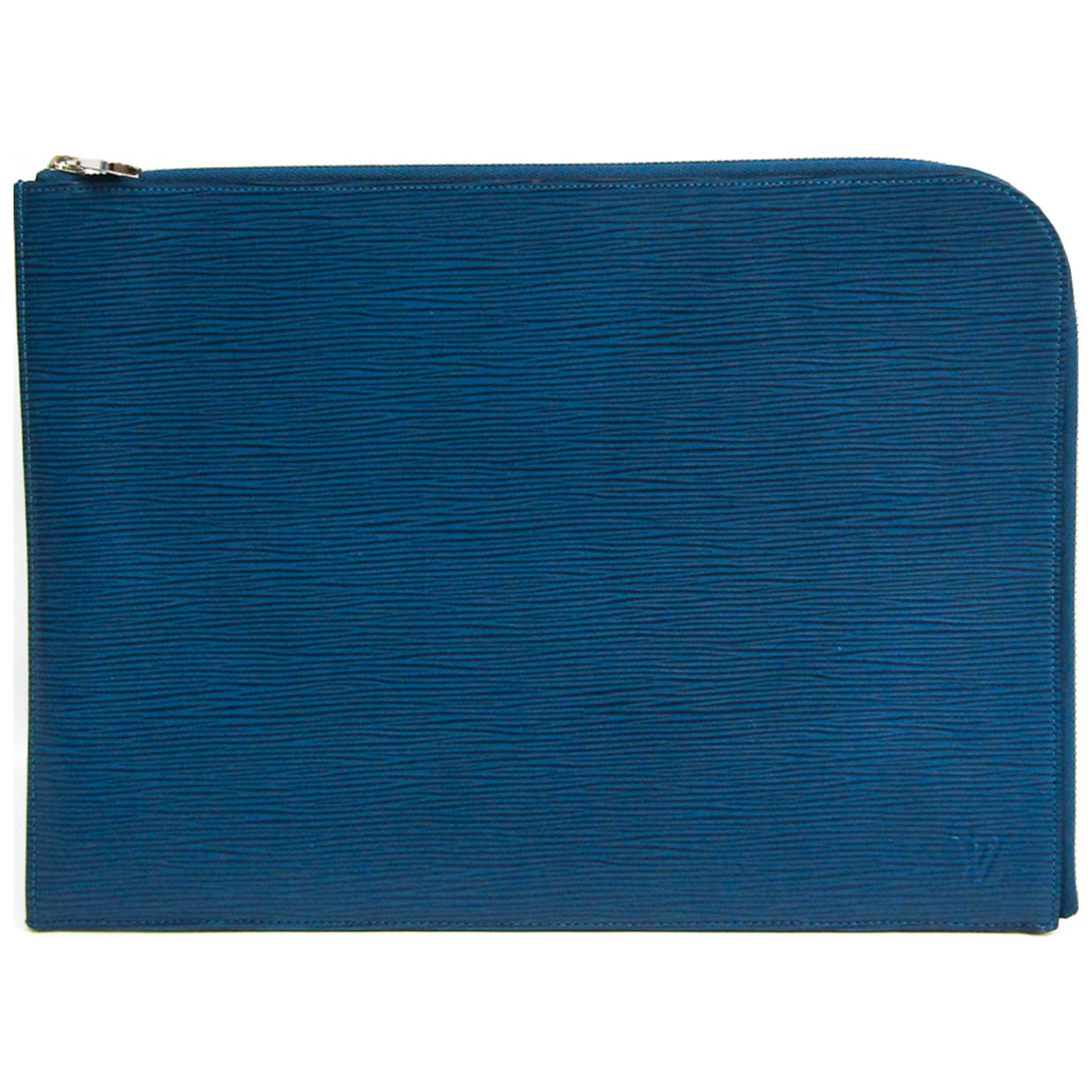 Louis Vuitton \N Blue Leather Small bag, wallet & cases for Men \N